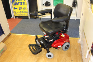 Indoor/Outdoor Portable Powerchair